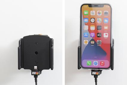 Inštalácia produktu Aktívny držiak pre Apple iPhone 12, iPhone 12 Pro s puzdrom. Krok 4.
