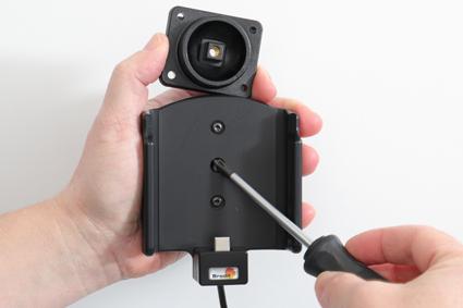 Inštalácia produktu Aktívny držiak pre Samsung Galaxy S20 FE G780 USB+CL Krok 1.