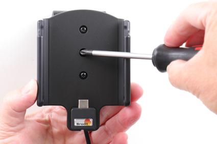 Inštalácia produktu Aktívny držiak pre Samsung Galaxy A40 A405 s Molex kon.. Krok 3.