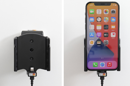 Inštalácia produktu Aktívny držiak pre Apple iPhone 12, iPhone 12 Pro s Molex kon.. Krok 4.