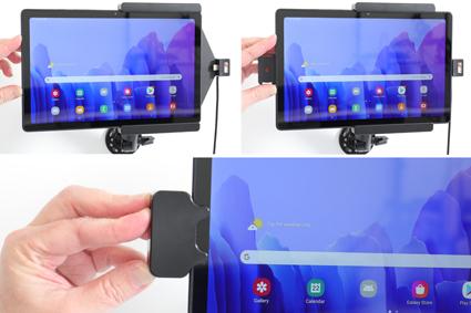 Inštalácia produktu Aktívny držiak pre Samsung Galaxy Tab A7 10.4 s uzam. s Molex. Krok 2.