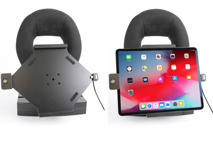 Inštalácia produktu Aktívny držiak pre Apple iPad Pro 12.9 2018/ 2020 s uzamykaním. Krok 4.
