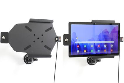 Inštalácia produktu Aktívny držiak pre Samsung Galaxy Tab A7 10.4 USB+CL s uzamykaním. Krok 4.