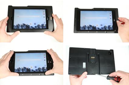 Inštalácia produktu Odolné puzdro pre LG G Pad F2 8.0 USB+CL Krok 1.