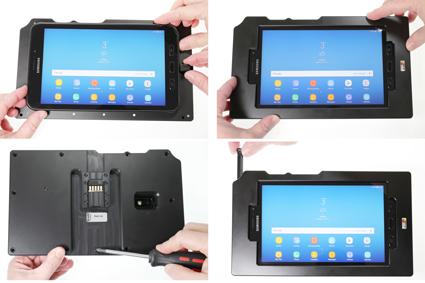 Inštalácia produktu Odolné puzdro pre Samsung Galaxy Tab Active 2 T390 USB+CL Krok 1.