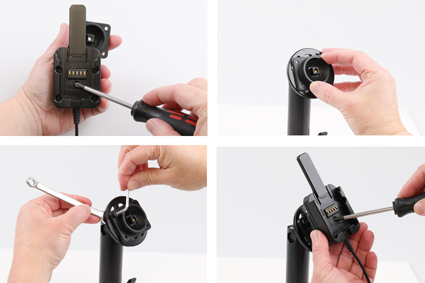 Inštalácia produktu Odolné puzdro pre Samsung Galaxy Tab Active 2 T390 USB+CL. Krok 2.