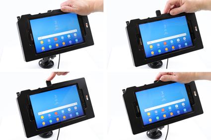 Inštalácia produktu Odolné puzdro pre Samsung Galaxy Tab Active 2 T390 USB+CL. Krok 3.