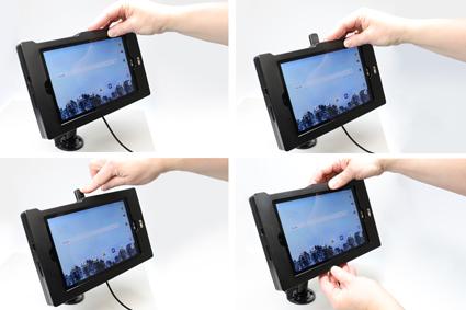 Inštalácia produktu Odolné puzdro pre LG G Pad F2 8.0 Molex. Krok 3.