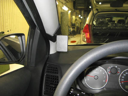 Inštalácia konzoly Proclip 804288 - Hyundai i20 09-14, vľavo. Krok 4.