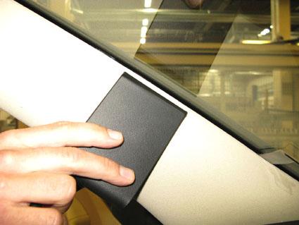 Inštalácia konzoly Proclip 804605 - Skoda Superb 09-15, vľavo. Krok 2.