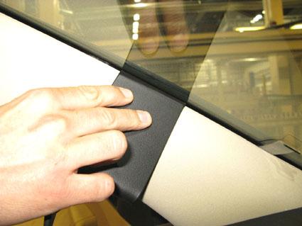 Inštalácia konzoly Proclip 804605 - Skoda Superb 09-15, vľavo. Krok 3.