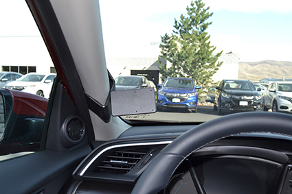 Inštalácia konzoly Proclip 805540 - Honda Civic 19-20, vľavo. Krok 4.