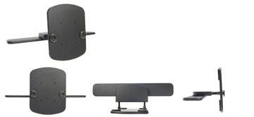 Konzola pre montáž na prednom sedadle auta (na opierku hlavy)