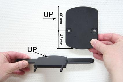 Inštalácia produktu Konzola pre montáž na sedadlo v aute (na opierku hlavy) Volvo III Krok 1.