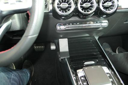 Inštalácia konzoly Proclip 835607 - Mercedes Benz GLB-Class 20, konzola, vľavo. Krok 4.
