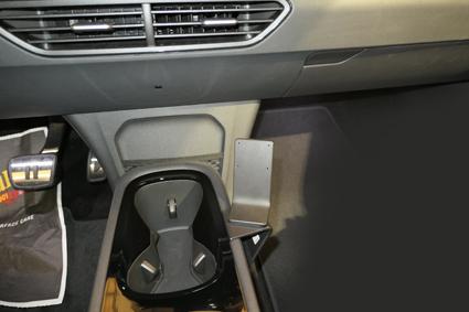 Inštalácia konzoly Proclip 835644 - Volkswagen ID.3 21, konzola. Krok 4.