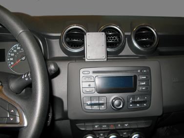 Inštalácia konzoly Proclip 855395 - Dacia Duster 18-20, stred. Krok 4.