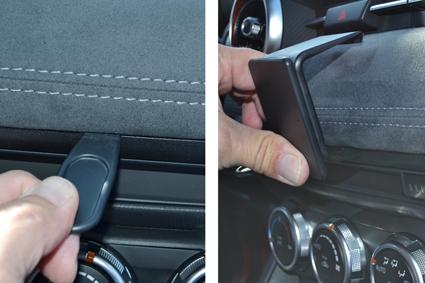 Inštalácia konzoly Proclip 855529 - Mazda CX-3 19, stred Krok 1.