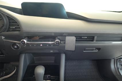 Inštalácia konzoly Proclip 855530 - Mazda 3 19, stred. Krok 4.
