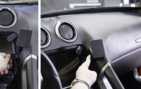 Inštalácia konzoly Proclip 855547 - Dodge Viper 13-17, stred,vpravo. Krok 3.