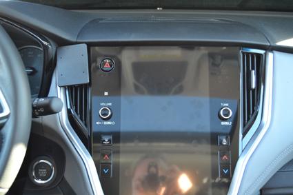 Inštalácia konzoly Proclip 855560 - Subaru Outback 20, stred,vpravo. Krok 4.