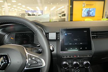 Inštalácia konzoly Proclip 855575 - Renault Clio V 20, stred. Krok 4.