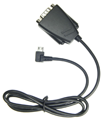 adapter cable micro usb to db9 rs232 host 945021 brodit